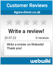 Reviews of agora-direct.co.uk
