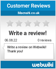 Reviews of macnahl.co.uk