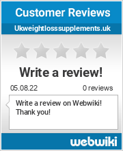 Reviews of ukweightlosssupplements.uk