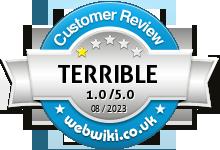 pjbox.co.uk Rating