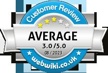 vebralive.co.uk Rating